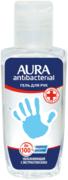 Aura Antibacterial Увлажняющий с Экстрактом Алое гель для рук антибактериальным эффектом