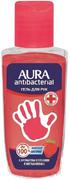 Aura Antibacterial Аромат Клубники с Экстрактом Алоэ гель для рук антибактериальным эффектом