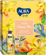 Aura Beauty Vitamin Mix подарочный набор (крем-гель для душа + крем для рук)