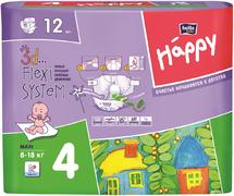 Bella Baby Happy Maxi подгузники детские 8-18 кг