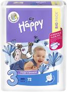 Bella Baby Happy Midi подгузники детские 5-9 кг