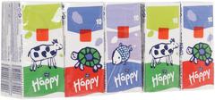 Bella Baby Happy Животные платочки бумажные гигиенические