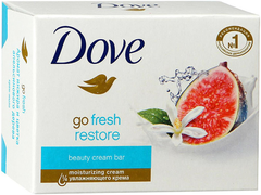Dove Go Fresh Restore Аромат Инжира и Цветка Апельсинового Дерева крем-мыло