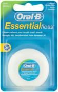 Oral-B Essential зубная нить вощеная с мятой