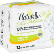 Натурелла Cotton Protection Нормал прокладки женские гигиенические