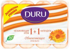 Duru 1+1 Увлажняющий Крем и Календула мыло туалетное обновляющее