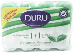 Duru 1+1 Увлажняющий Крем и Зеленый Чай мыло туалетное
