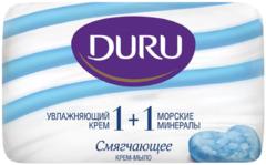 Duru 1+1 Увлажняющий Крем и Морские Минералы мыло туалетное смягчающее