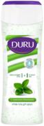 Duru 1+1 Увлажняющий Крем и Зеленый Чай гель для душа с антиоксидантами