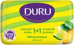 Duru 1+1 Свежий Лайм и Сладкий Ананас крем-мыло обновляющее