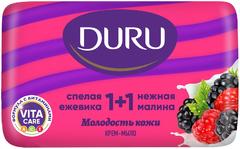 Duru 1+1 Сладкая Ежевика и Нежная Малина крем-мыло