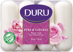 Duru Pure & Natural Роза мыло туалетное