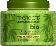 Прелесть Bio Жизненная Сила с Экстрактом Зеленого Чая гель для волос сильная фиксация