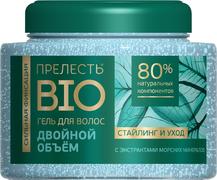Прелесть Bio Двойной Объем с Морскими Минералами гель для волос сильная фиксация