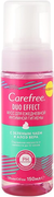 Carefree Duo Effect с Зеленым Чаем и Алоэ Вера мусс для ежедневной интимной гигиены