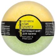 Cafe Mimi Бергамот и Грейпфрут бурлящий шар для ванны
