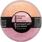 Cafe Mimi Личи и Нони бурлящий шар для ванны