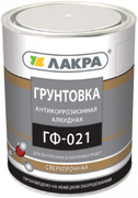 Лакра ГФ-021 грунтовка антикоррозионная алкидная быстросохнущая