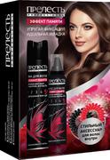 Прелесть Professional Эффект Памяти подарочный набор (лак + мусс + резинки для волос)
