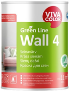 Vivacolor Green Line Wall 4 краска для стен