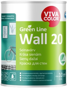 Vivacolor Green Line Wall 20 краска для стен