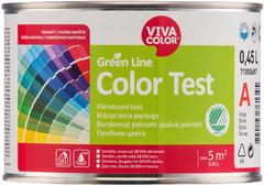 Vivacolor Green Line Color Test пробник цвета