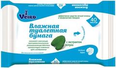 Veiro с Экстрактом Лопуха влажная туалетная бумага