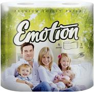 Туалетная бумага Мягкий Знак Premium Toilet Paper Emotion