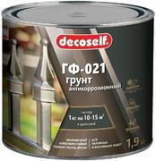 Пуфас Decoself ГФ-021 грунт антикоррозионный