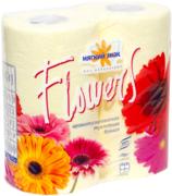 Туалетная бумага ароматизированная Мягкий Знак Flowers