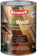 Пуфас Decoself Bio Wood защитно-декоративный состав для дерева