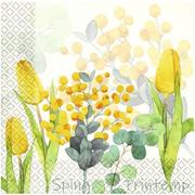 Мягкий Знак Мягкий Знак Gratias Весенняя Салфетка Spring Printemp бумажные салфетки