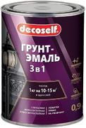 Пуфас Decoself грунт-эмаль 3 в 1