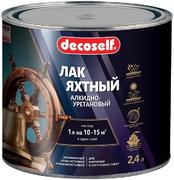 Пуфас Decoself лак яхтный алкидно-уретановый
