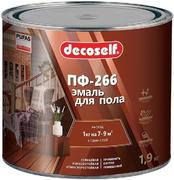 Пуфас Decoself ПФ-266 эмаль для пола