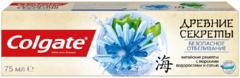 Колгейт Колгейт Древние Секреты Безопасное Отбеливание Китайские Рецепты с Морскими Водорослями и Солью зубная паста с фтором