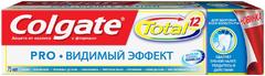 Колгейт Колгейт Total Pro Видимый Эффект зубная паста