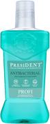 Президент Profi Antibacterial ополаскиватель для полости рта для защиты от бактерий