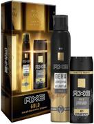 Axe Gold подарочный набор (пена для душа и бритья + дезодорант)