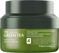 Tony Moly The Chok Chok Green Tea Watery Cream увлажняющий крем с экстрактом зеленого чая