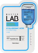 Tony Moly Master Lab Hyaluronic Acid тканевая маска для лица с гиалуроновой кислотой