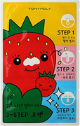 Tony Moly Runaway Srawberry Seeds 3-step Nose Pack патчи очищающие для носа