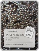 Tony Moly Pureness 100 Caviar Mask Sheet Nutrition тканевая подтягивающая маска с экстрактом черной икры
