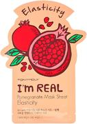 Tony Moly I'm Real Pomegrante Mask Sheet Elasticity тканевая маска для лица с экстрактом граната