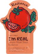 Tony Moly I'm Real Tomato Mask Sheet Radiance тканевая маска для лица с экстрактом томата