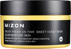 Mizon Enjoy Fresh On-Time Sweet Honey Mask маска медовая для сухой кожи