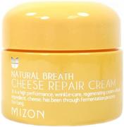 Mizon Natural Breath Cheese Repair Cream крем для лица питательный сырный