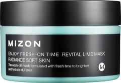 Mizon Enjoy Fresh On-Time Revital Lime Mask маска увлажняющая с экстрактом лайма
