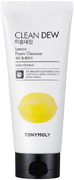 Tony Moly Clean Dew Lemon Foam Cleanser пенка для лица с экстрактом лимона