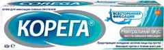 Корега Нейтральный Вкус крем для фиксации зубных протезов